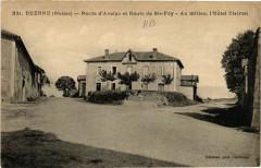 Duerne - Route d'Aveize et Route de Ste-Foy - Au Millieu 69 Duerne