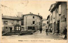 Grigny - Quartier de la Fontaine - Le Lavoir - Grigny
