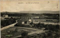 Grigny - Le Pont et la Rotonde - Grigny