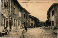 Duerne (alt 821 m) - La traversée du village 69 Duerne