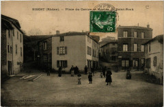 Bibost - Place du Centre et Montée de St-Roch - Bibost