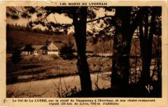 Le Col de la Luere sur la route de Vaugneray a Chevinay 69 Vaugneray