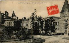 Lacenas Chateau de Bionnay La Cour d'Honneur - Lacenas