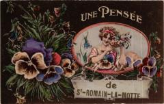Saint-Romain-la-Motte - Une Pensee Saint-Romain-la-Motte France - Saint-Romain-la-Motte