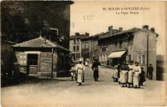 Roche-la-Moliere - La Place Neuve France - Roche-la-Molière