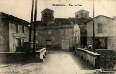 Champdieu - Place du Pont France - Champdieu