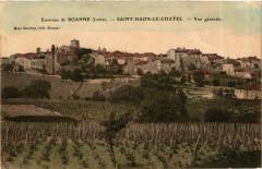 Saint-Haon-le-Chatel - Vue Generale - Environs de Roanne France - Saint-Haon-le-Châtel