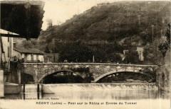 Regny - Pont sur le Rhins et Entree du Tunnel France - Régny