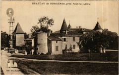 Chateau de Bussieres - pres Roanne France - Bussières