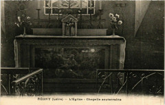Regny - L'Eglise - Chapelle Souterraine France - Régny