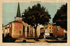 Usson-en-Forez - L'Eglise et le Monument aux Morts France - Usson-en-Forez