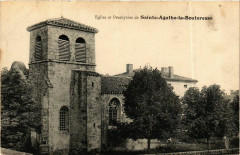 Sainte-Agathe-la-Bouteresse - Eglise et Presbytere France - Sainte-Agathe-la-Bouteresse