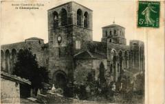 Champdieu - Ancien Cimetiere et Eglise de Champdieu France - Champdieu