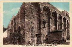 Champdieu - Ancien Prieure des Benedictins de Champdieu France - Champdieu