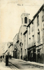 Cette - Eglise Saint-Joseph - Rue France - Saint-Joseph