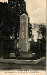 Regny - Monument eleve aux Morts France - Régny