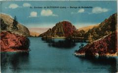 Env.de Saint Etienne- Barrage de Rochetaillee 42 Roche