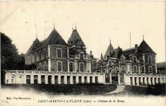 Saint-Martin-la-Plaine - Chateau de la Ronze - Saint-Martin-la-Plaine