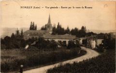 Noailly - Vue générale - Entrée par la route de Roanne - Noailly