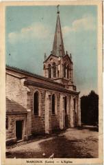 Marcoux - L'Eglise - Marcoux