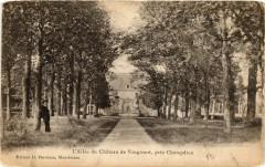 L'Allée du Chateau de Vaugirard pres Champdieu - Champdieu