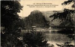 Barrage de Rochetaillee-Edifié pour l'alimentation des eaux de .. 42 Roche