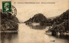 Environs de Saint-Etienne - Barrage du Rochetaillee 42 Roche