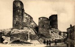 Environs de Saint-Etienne - La Rochetaillee - Ruines de l'Ancien... 42 Roche