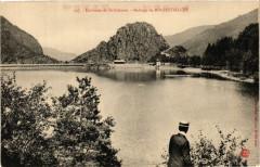 Environs de Saint-Etienne - Barrage de Rochetaillee 42 Roche