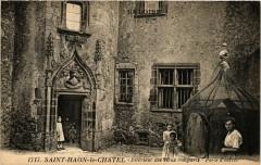 Saint-Haon-le-Chatel - Intérieur des vieux remparts - Porte d'entrée - Saint-Haon-le-Châtel