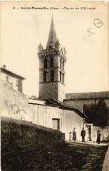 Saint-Marcellin - Clocher du XIIIe siecle - Saint-Marcellin