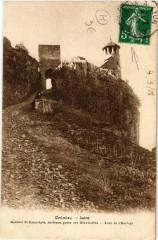 Crémieu - Rochers St-Hyppolyte - Crémieu