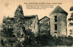 Pontcharra-sur-Breda - Chateau Bayard - Pontcharra