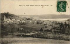 Moras pres de CREMIEUx - le Village et le Luc - Moras