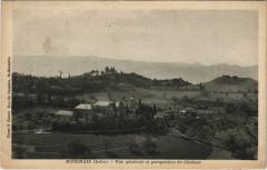 Murinais - Vue générale et perspective du Chateau - Murinais
