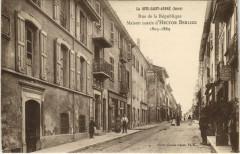 La Cote-Saint-Andre - Rue de la Republique - La Côte-Saint-André