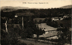 Rives - Usine de la Poype - Papeterie B. F. K. France - Rives