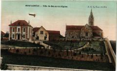 Montagneux - Villa du Bel-Air et l'Eglise France - Montagne