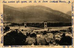 Le Pont sur l'Isere entre Voreppe et Veurey France - Voreppe