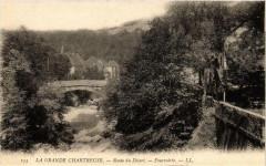La Grande Chartreuse - Route du Desert - Fourvoirie France - Four