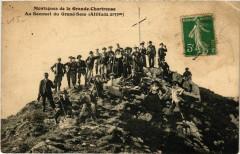 Montagnes de la Grande-Chartreuse - Au Sommet du Grand-Som France - Montagne