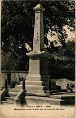Soleymieu - Monument aux Morts de la Grande Guerre France - Soleymieu