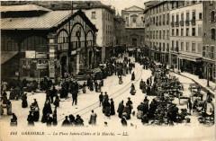 La Place Sainte-Claire et le Marché - Grenoble