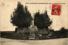 Saint-Georges-d'Esperanche - Statue de la Vierge - Saint-Georges-d'Espéranche