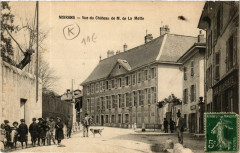 Moirans - Vue du Chateau de M. de La Motte - Moirans