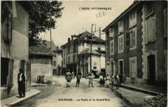 Moirans - La Poste et la Grand'Rue - Moirans