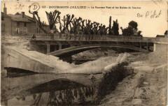 Bourgoin-Jallieu - Le Nouveau Pont et les Ruines de l'ancien - Bourgoin-Jallieu
