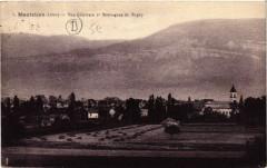 Montalieu - Vue générale et Montagnes du Bugey - Montagne
