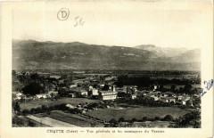 Chatte - Vue générale et les montagnes du Vercors - Chatte