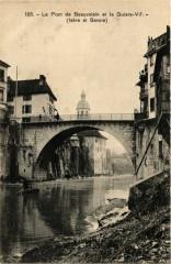 Le Pont-de-Beauvoisin et le Guiers - Le Pont-de-Beauvoisin
